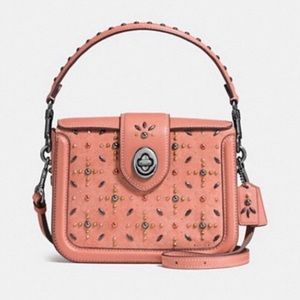 COACH Page Crossbody with Prairie Rivets, NWOT